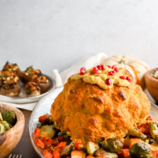 Vegan Spiced Roasted Cauliflower with Vegetables Recipe