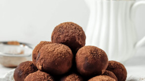 Vegan Coconut Chocolate Truffles Recipe